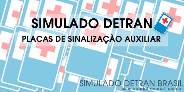 Simulado Detran Placas Auxiliares (Exclusivo)