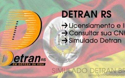 Detran RS – Consultas, IPVA, Simulado Detran