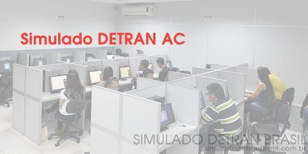 Simulado Detran AC – estude grátis