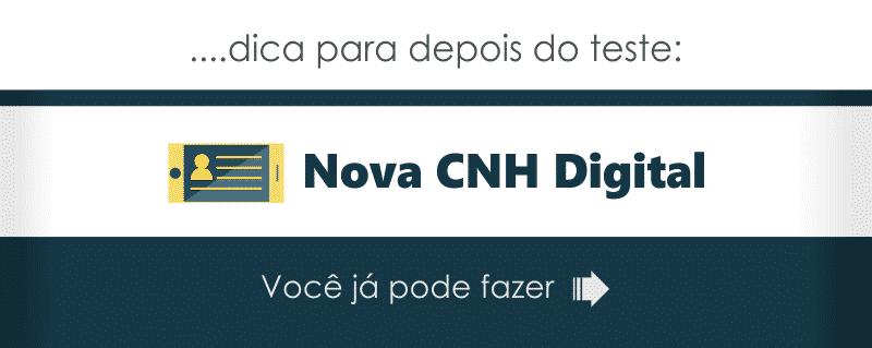 Informações sobre a nova CNH Digital