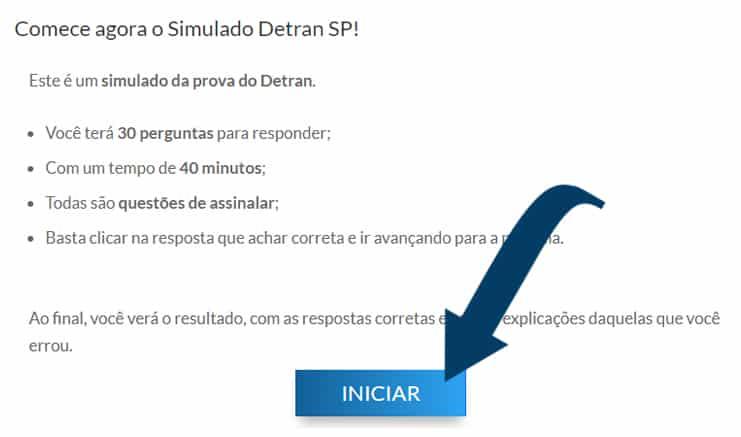 fazer o simulado detran sp