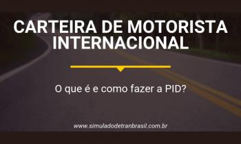 Carteira de motorista internacional: o que é e como fazer