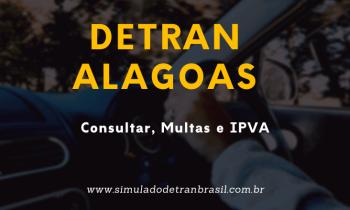 Detran Alagoas – Consultas, Multas e IPVA